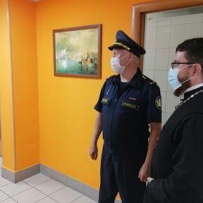 Священнослужитель Новосибирской епархии совместно с руководством ГУФСИН России по Новосибирской области посетили Епархиальный комплексный центр социального обслуживания граждан