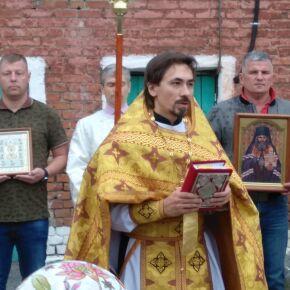 В храме при епархиальной гостинице для бездомных состоялся престольный праздник