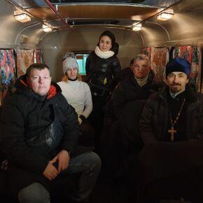 Волонтеры акции «Социальный патруль» продолжают оказывать помощь бездомным в зимний период