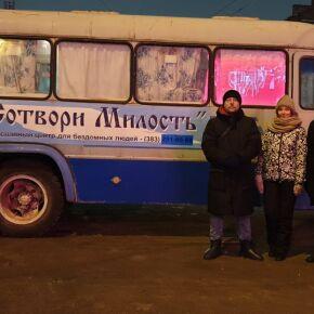 Православная молодежь приняла участие в рейде «Автобуса спасения»