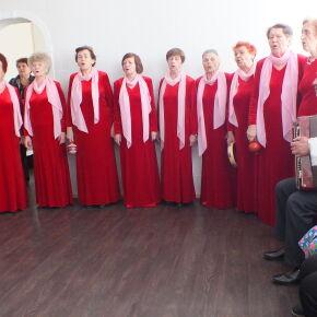 В Епархиальной гостинице для бездомных состоялся концерт для пожилых постояльцев